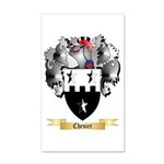 Chesier 20x12 Wall Decal