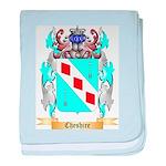 Cheshire baby blanket