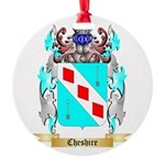 Cheshire Round Ornament