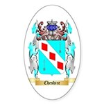 Cheshire Sticker (Oval 10 pk)