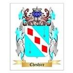 Cheshire Small Poster