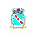 Chesher Rectangle Car Magnet