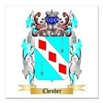 Chesher Square Car Magnet 3