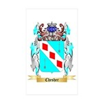 Chesher Sticker (Rectangle 50 pk)