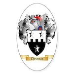 Cheseman Sticker (Oval)
