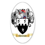 Cheseman Sticker (Oval 10 pk)