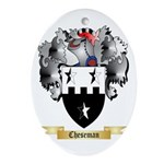 Cheseman Ornament (Oval)