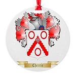 Cherrie Round Ornament