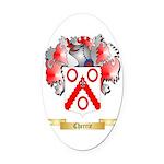 Cherrie Oval Car Magnet
