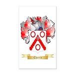 Cherrie Rectangle Car Magnet