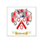 Cherrie Square Sticker 3