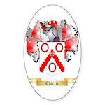 Cherrie Sticker (Oval)