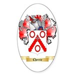 Cherrie Sticker (Oval 50 pk)