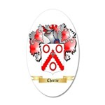 Cherrie 20x12 Oval Wall Decal