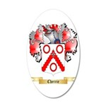 Cherrie 35x21 Oval Wall Decal