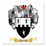 Cherrett Square Car Magnet 3