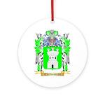 Cherbonneau Ornament (Round)