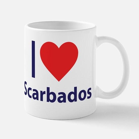 I Love Scarbados Mug