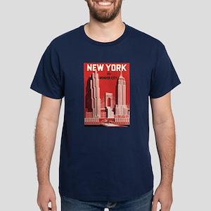 New york the wonder city red
