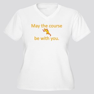 May the course be with you - RUNNING Plus Size T-S