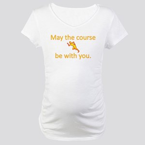 May the course be with you - RUNNING Maternity T-S