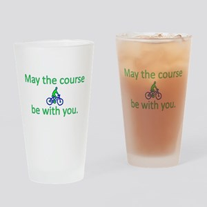 May the course be with you - BICYCLE Drinking Glas