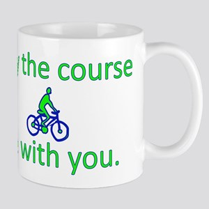 May the course be with you - BICYCLE Mug