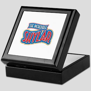 The Incredible Skylar Keepsake Box
