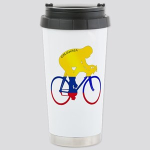 Colombian Cycling Stainless Steel Travel Mug