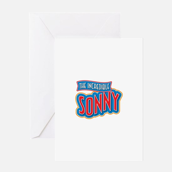The Incredible Sonny Greeting Card