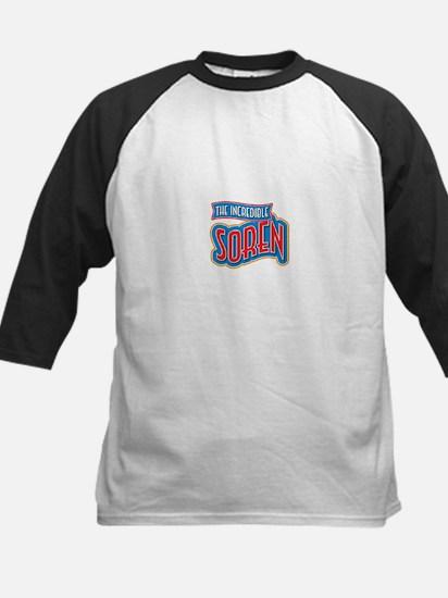 The Incredible Soren Baseball Jersey