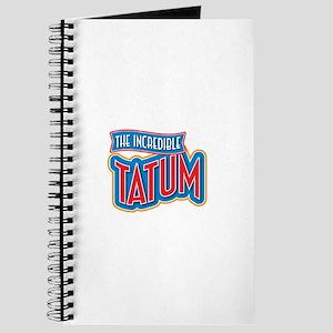 The Incredible Tatum Journal