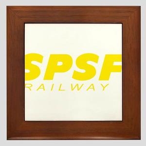 SPSF Railway Modern Herald Yellow Framed Tile