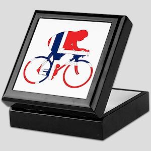 Norwegian Cycling Keepsake Box