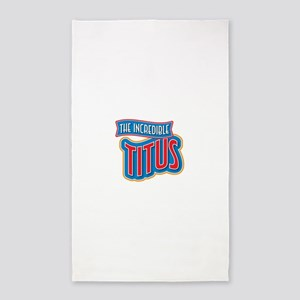 The Incredible Titus 3'x5' Area Rug