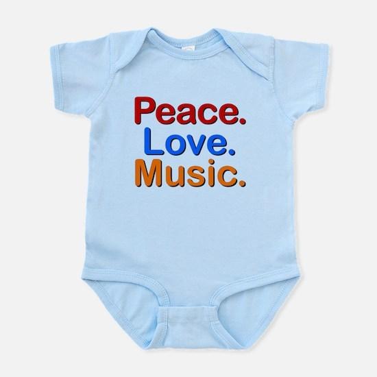 Peace Love Music Body Suit