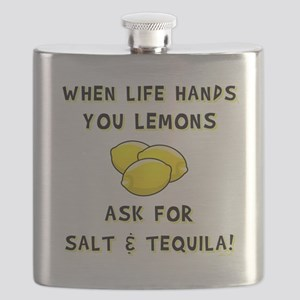ASK FOR SALT AND TEQUILA! Flask