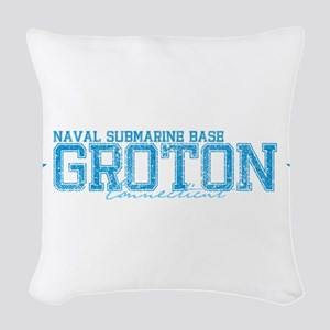NSBgroton Woven Throw Pillow