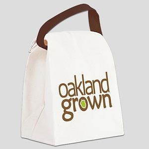Oakland Grown basic logo Canvas Lunch Bag
