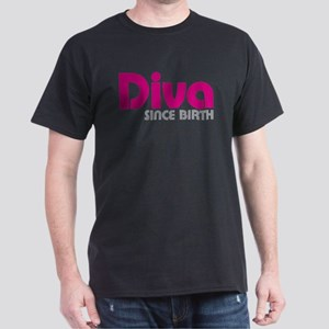 Diva Since Birth Dark T-Shirt