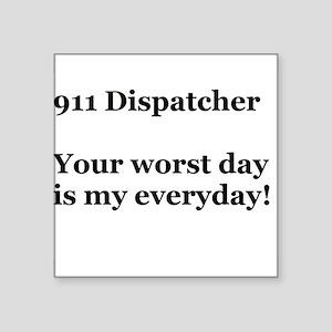 911 Dispatcher Sticker