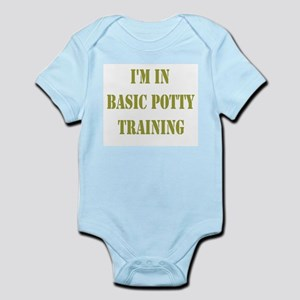 In Basic Potty Training Infant Bodysuit