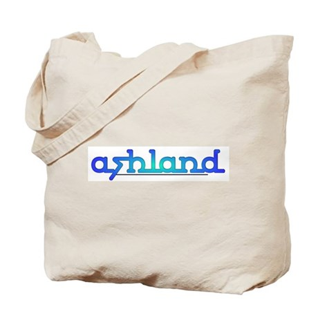 Ashland Sea Blue Tote Bag