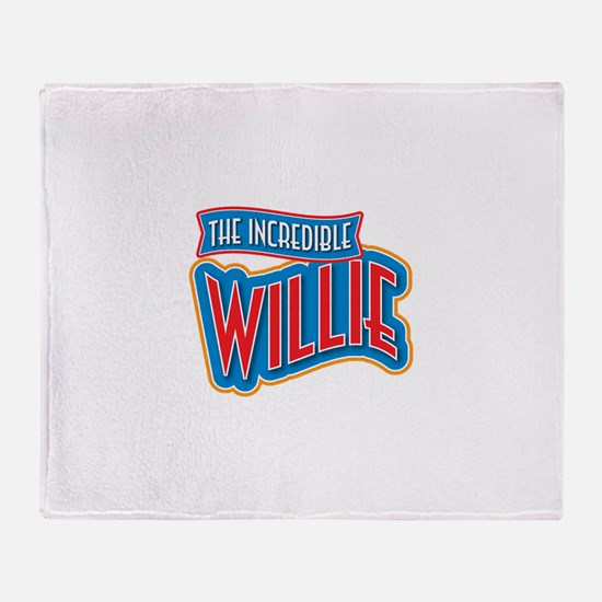 The Incredible Willie Throw Blanket