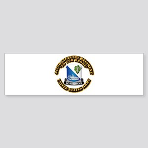 Army - DUI - 442nd Infantry Regt Sticker (Bumper)