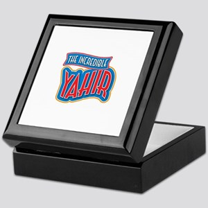 The Incredible Yahir Keepsake Box