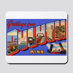 Duluth Minnesota Greetings Mousepad