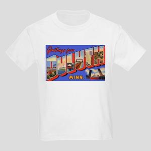 Duluth Minnesota Greetings (Front) Kids T-Shirt