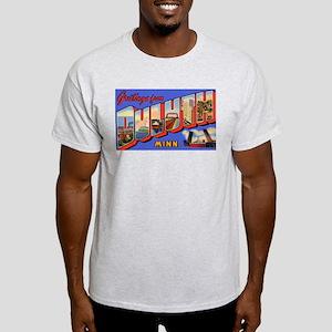 Duluth Minnesota Greetings (Front) Ash Grey T-Shir