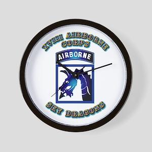 XVIII Airborne Corps - SSI Wall Clock